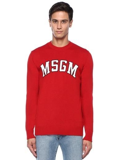 Msgm Kazak Kırmızı
